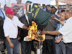 burning bok jersey