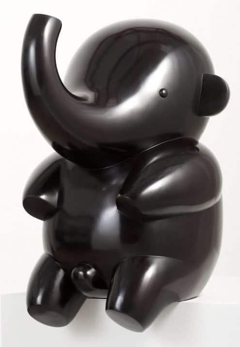 brett-murray-little-elephant-in-the-room-bronze
