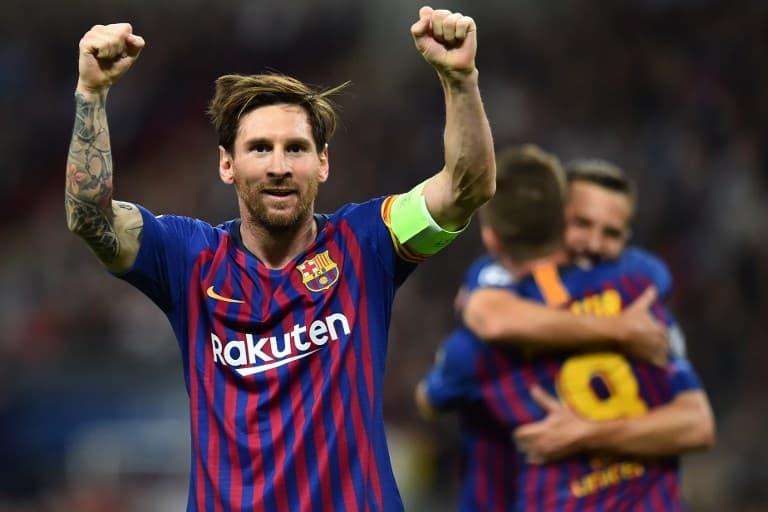 lionel messi barcelona champions league tottenham 2019