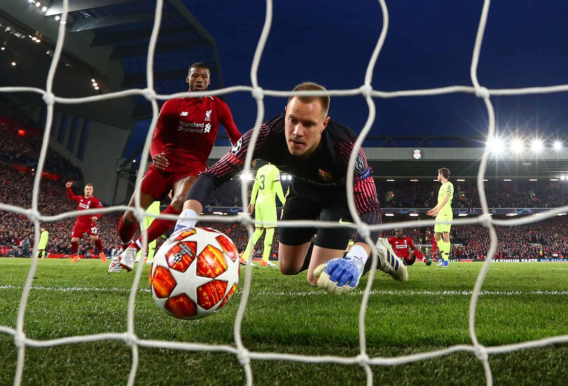 georginio wijnaldum liverpool barcelona anfield goal two champions league 2019