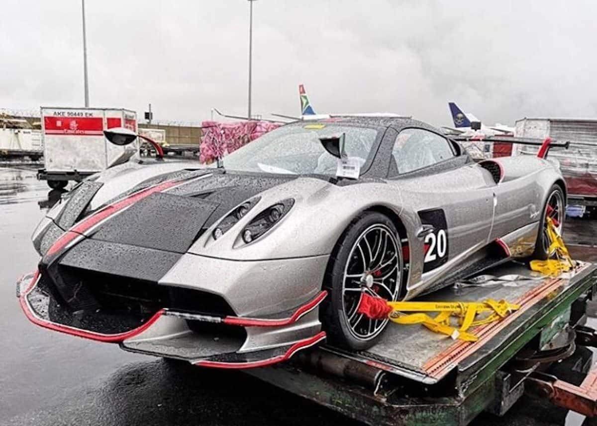 Pagani Huayra Bonkers R30m Supercar Lands In Johannesburg Photos