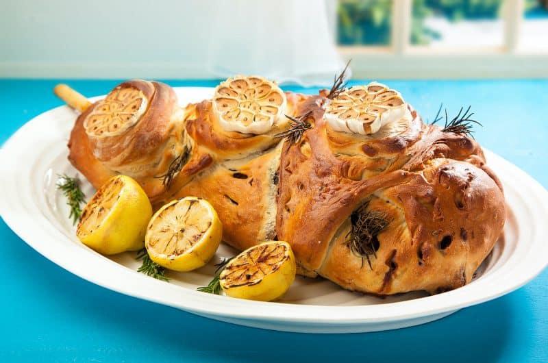 Jenny Morris' Slow-Baked Lamb In A Rosemary Dough Crust