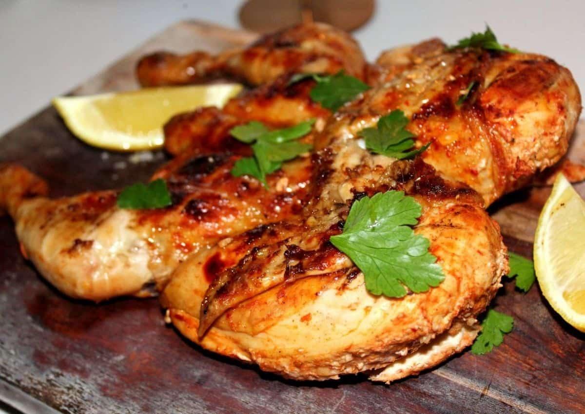Peri-Peri Spatchcock Chicken with Homemade Peri-Peri Sauce