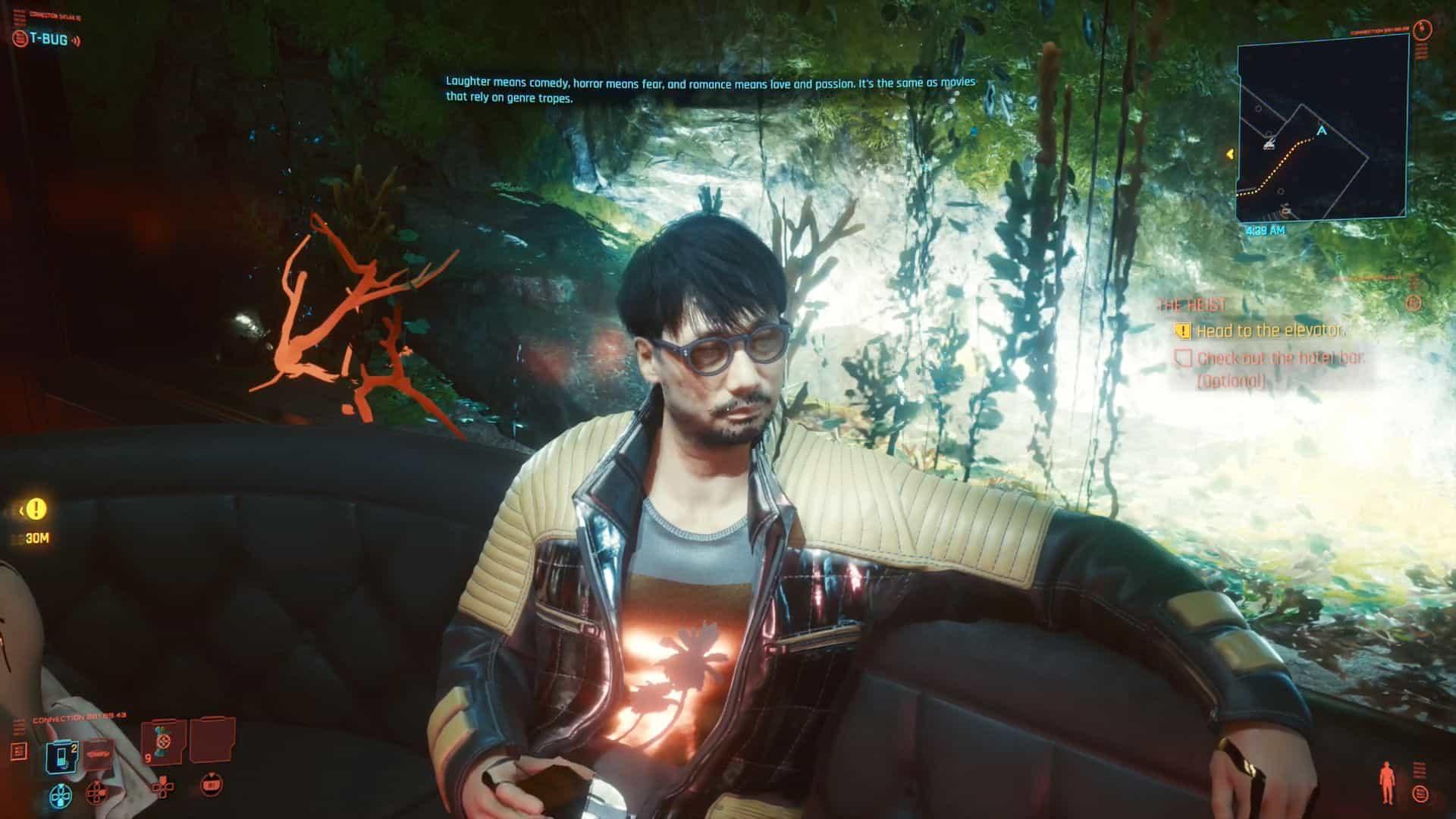 Hideo Kojima Cyberpunk 2077 Oshima