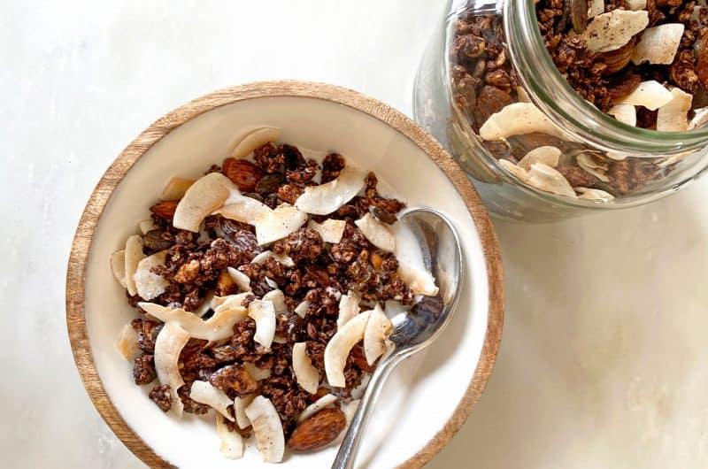 Cacao and Coconut Granola Recipe