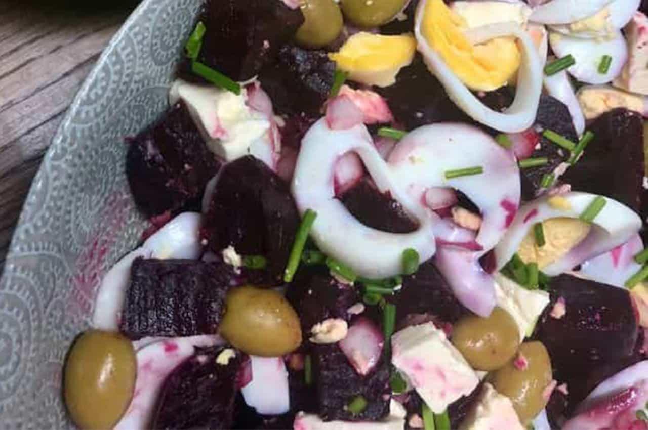 Easy Beetroot salad