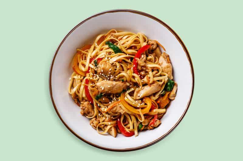 Asia-inspired Chicken Stir-fry Recipe