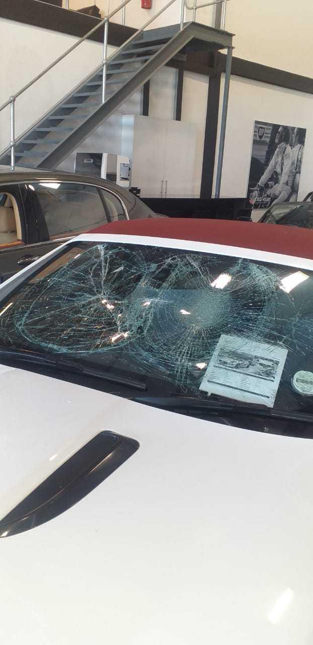 IMG 20210217 WA0025 - Watch: Gang storms CT dealership, smashing windows of luxury cars