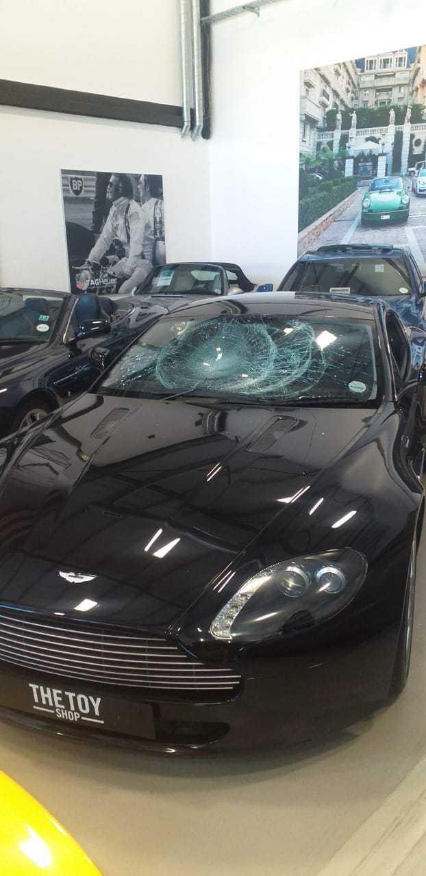 IMG 20210217 WA0027 - Watch: Gang storms CT dealership, smashing windows of luxury cars
