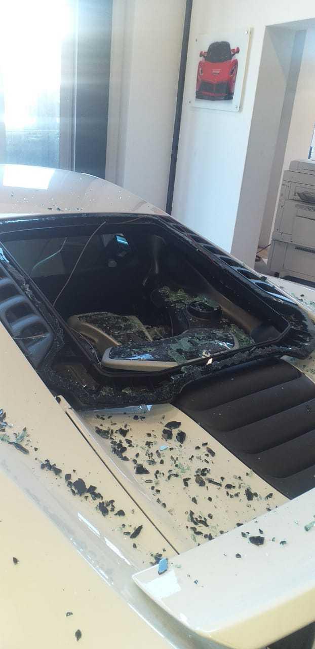 IMG 20210217 WA0029 - Watch: Gang storms CT dealership, smashing windows of luxury cars